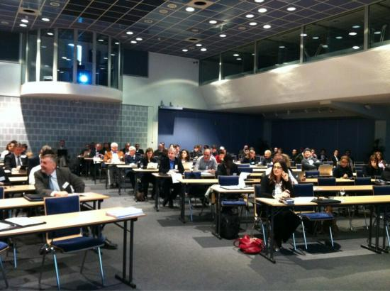 The audience at Medetel 2013 in Luxembourg.