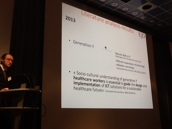 Marco Capizzi, Coordinator  of the eHealth Working Group at European Junior Doctors, discusses ICT4health at MedeTel