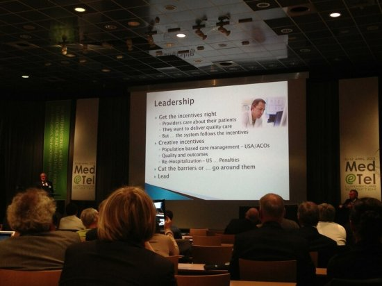 What does it take to Lead in Telehealth? A vision for the Future. Presentation by M. VanderWerf