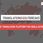 Crowd translation network for Ebola outbreak